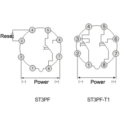 st3pf time delay relay electronic general purpose relay