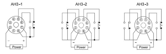 Ah3 Series Time Relay Mini Time Delay Relay 220v Inductive