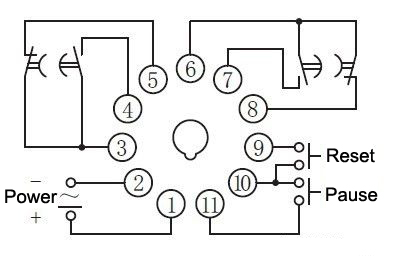 Timer Relay Wiring Diagram For. . Wiring Diagram on